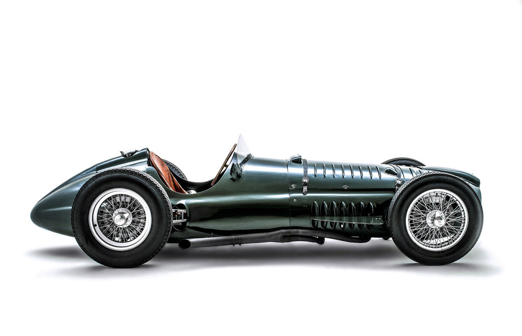 Paul, what's the story behind the new BRM V16?