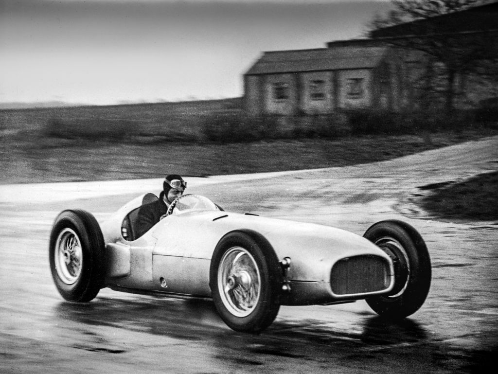 You're the grandson of one of BRM's original backers. Can you take us back to the original car's story?