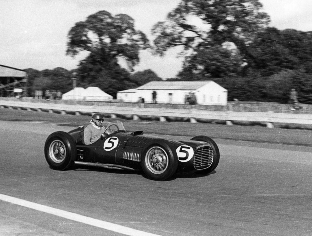 The original BRM V16 had quite the driver line-up, including Fangio?