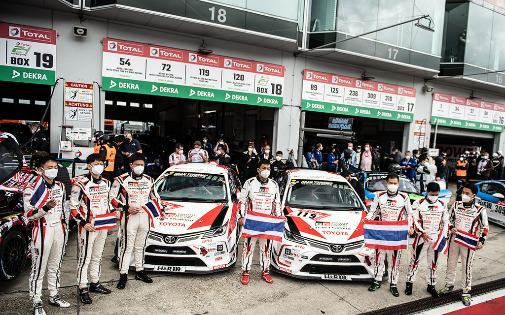 Chiba-san, congrats on a superb double podium finish at the Nürburgring 24 Hours. How was the race?