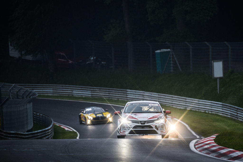 To be successful in a race like the N24, is it all about strategy?