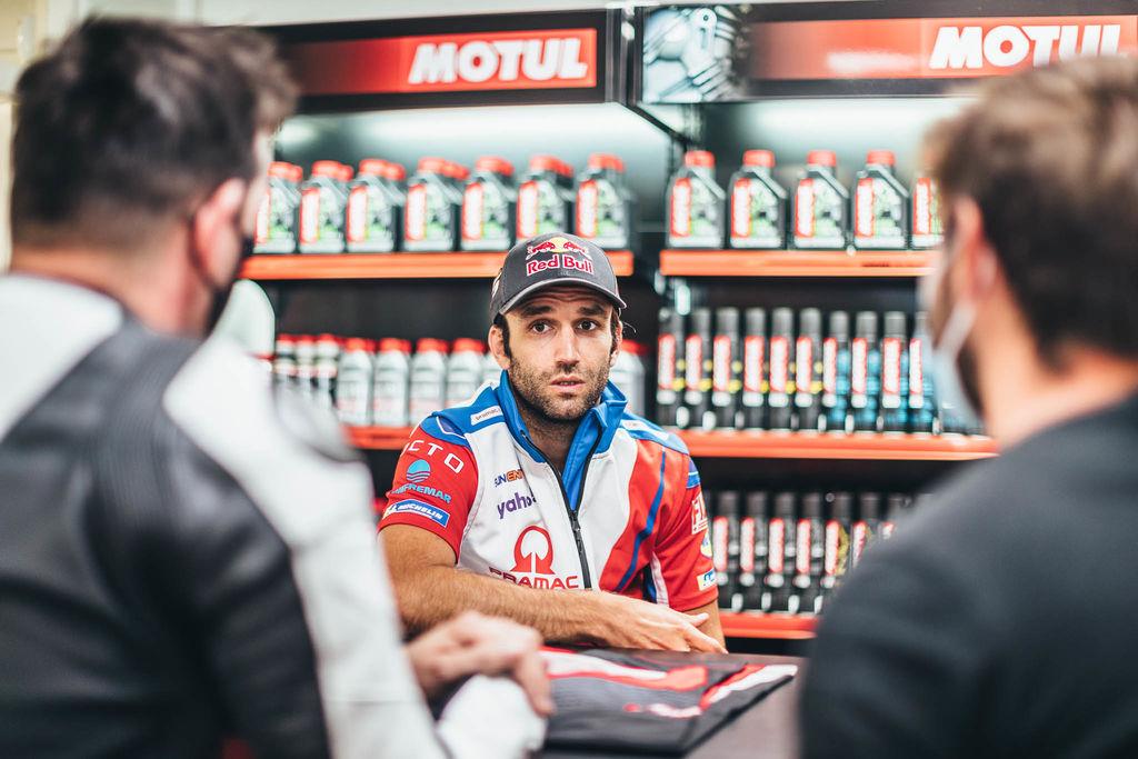 El francés Johann Zarco ha vuelto a encontrar su velocidad en el asiento caliente de la Pramac Ducati