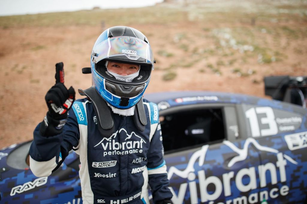 How do you even begin to deal with a course and the schedule of an event like the Pikes Peak hill climb?