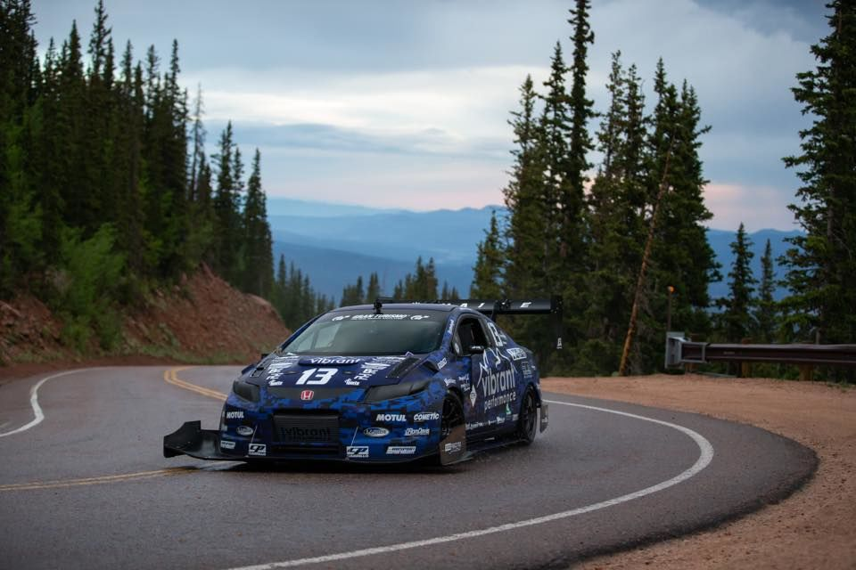 How different is the set-up for Pikes Peak compared to the time attack car?