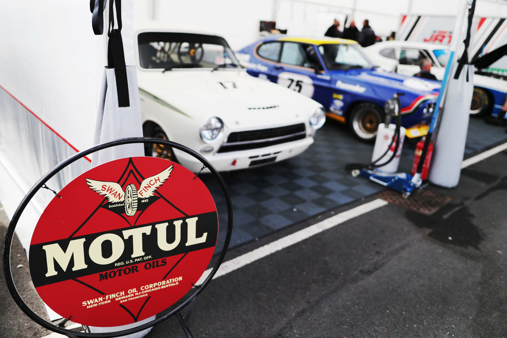 Is the focus purely on classic racing cars?