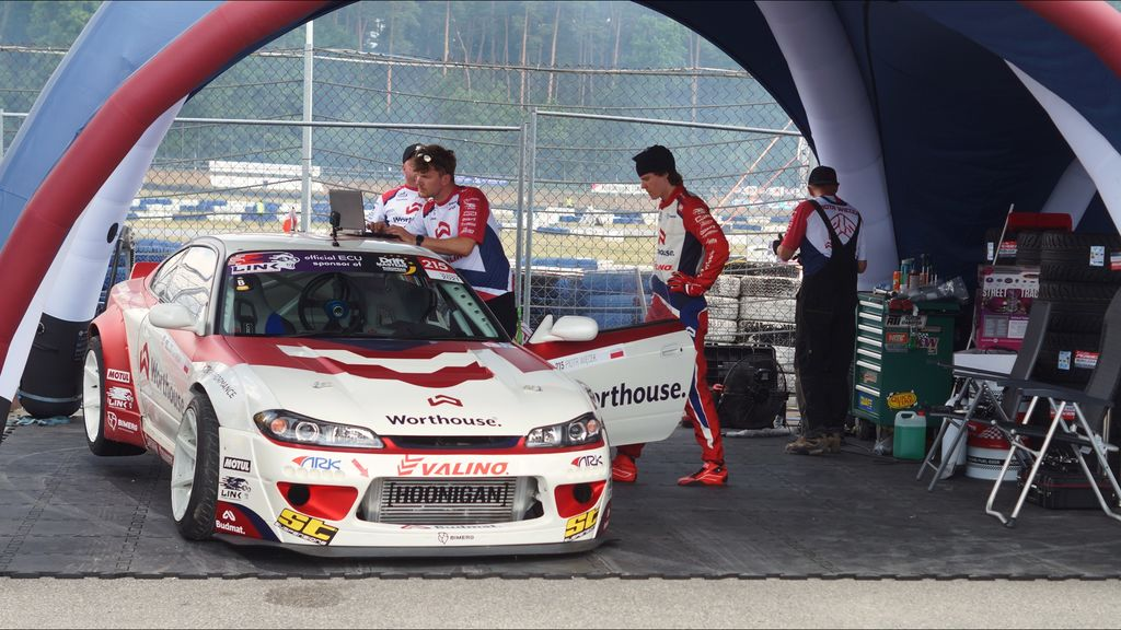 You've been racing with your infamous Worthouse Nissan S15. Can you tell us more about the car?