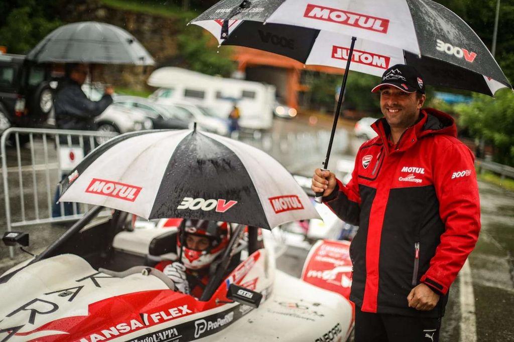 Congratulations to Team Petit Auto Sport. I believe you're celebrating some success?