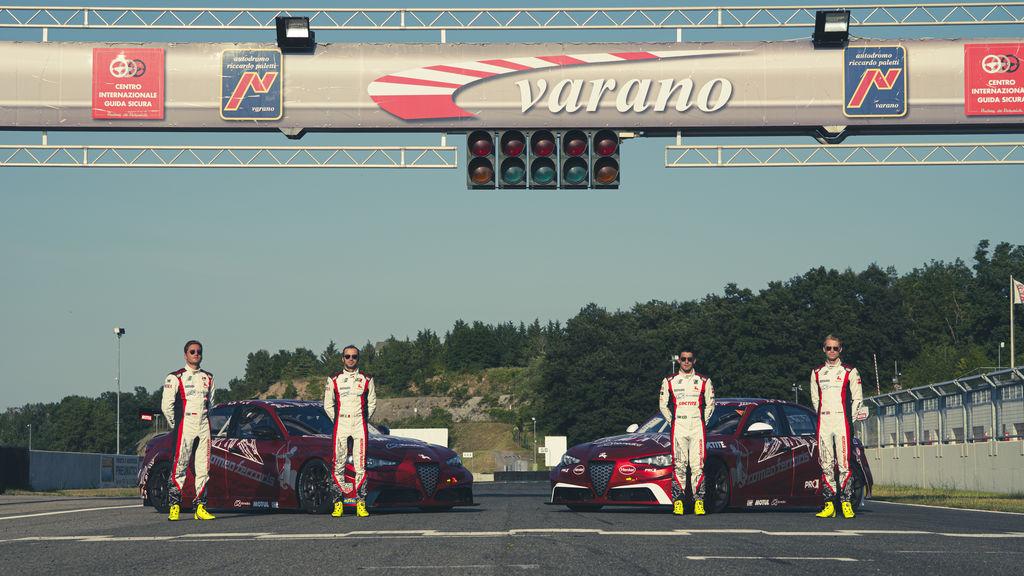 La divisione tuning di Romeo Ferraris si occupa anche del reparto corse?