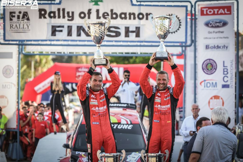 Roger, congratulations on your recent big win. How is your year in hill climb and rally?