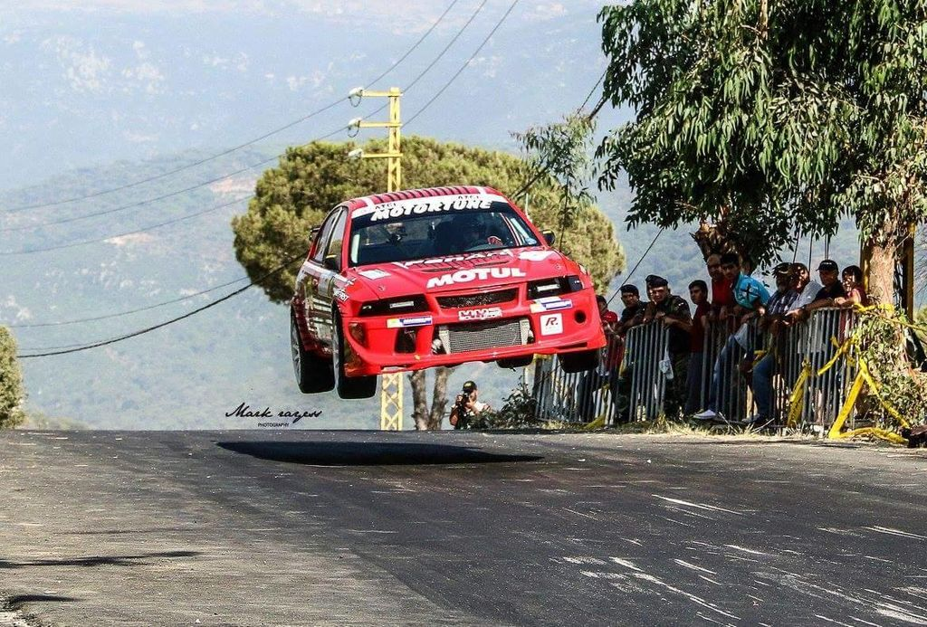 Will you be driving your Mitsubishi Evo in the Lebanese Rally?