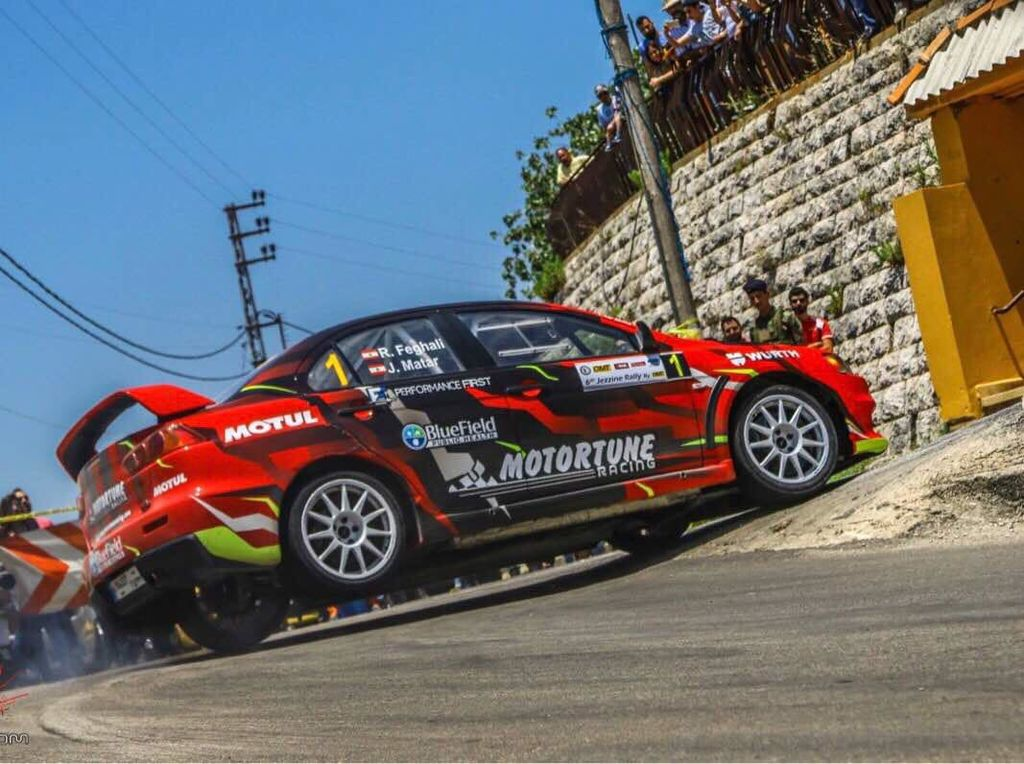 What are the roads like for rallying and hill climb in Lebanon?
