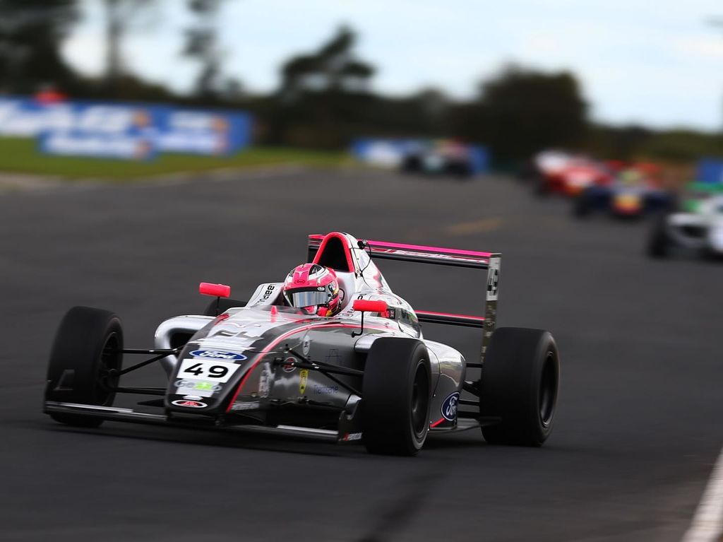 Formula 4 is seen as a feeder programme for top-flight motorsport. What did it feel like making that step into Formula 4?
