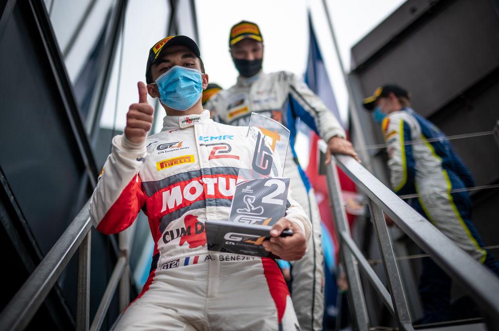 Andréa, félicitations pour la récente victoire à Zandvoort. Cela vous place à la deuxième place du championnat…