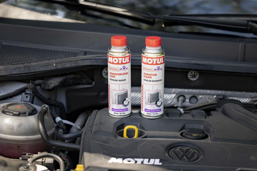Con estos lanzamientos, la compañía da respuesta a las necesidades de todo tipo de motores diésel y de gasolina que requieran una limpieza o sellado de pequeñas grietas y fugas en el radiador para evitar anomalías irreparables en el motor