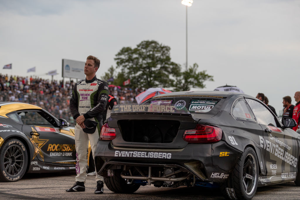 Yves, as a Swiss race driver, what attracted you to drifting and especially Formula Drift?
