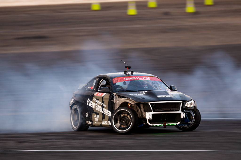 What are your first impressions of drifting in the US?