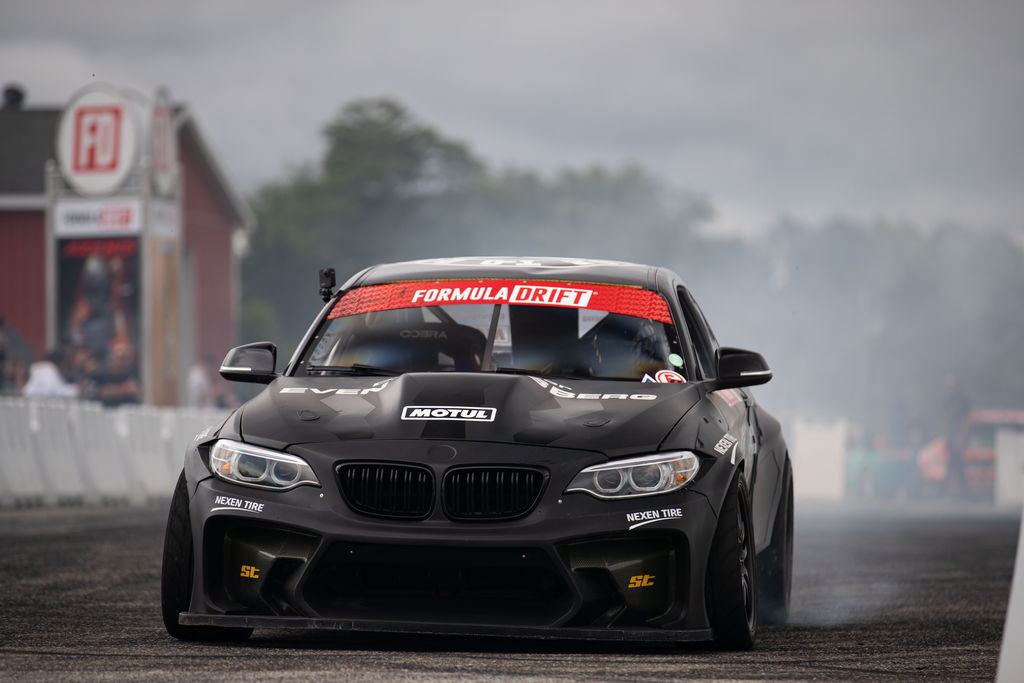 For technical support, you teamed up with Formula Drift veteran, and current points leader, Matt Field. How instrumental was this collaboration?