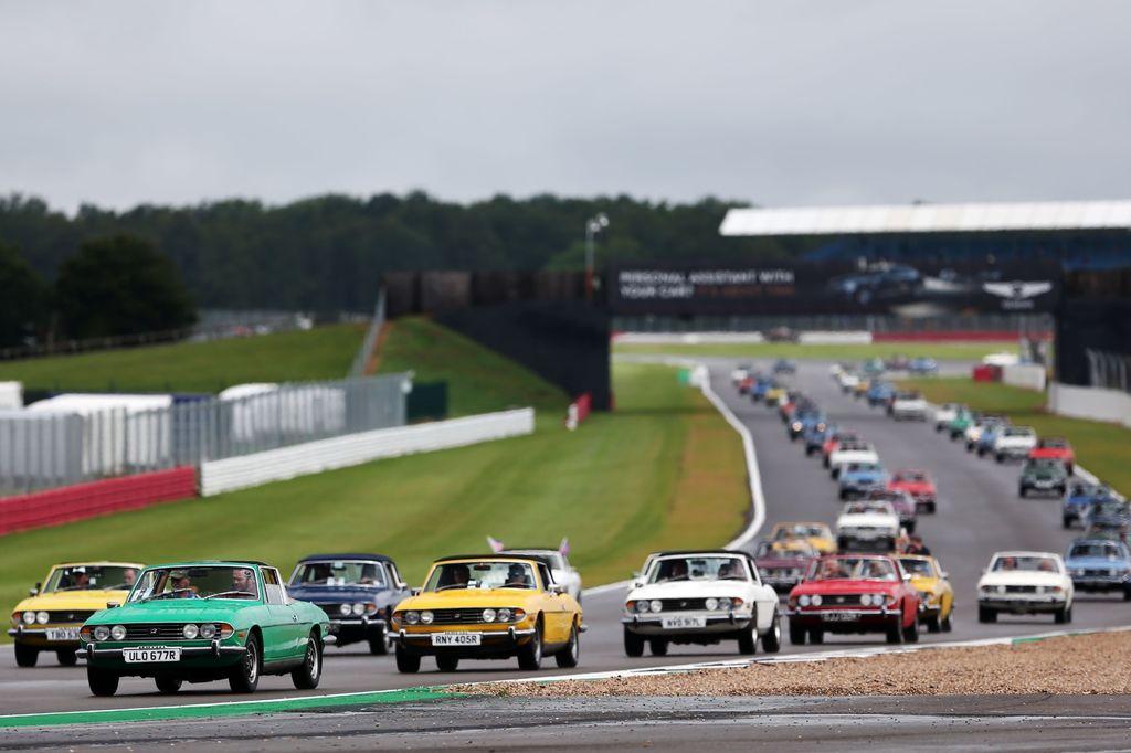 Kürzlich reiste das Labor über den Ärmelkanal zu The Classic in Silverstone, wo es das dreitägige Autofestival unterstützte.