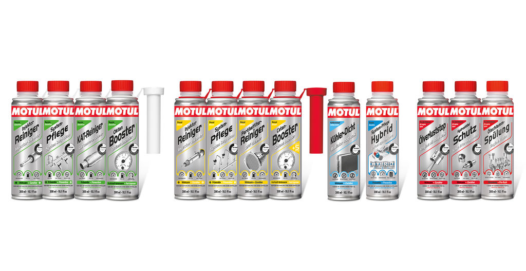High performance with 13 new additives