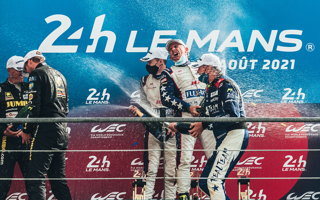 MOTUL TEAMS TOP THE CHARTS DURING CHALLENGING 24 HOURS LE MANS