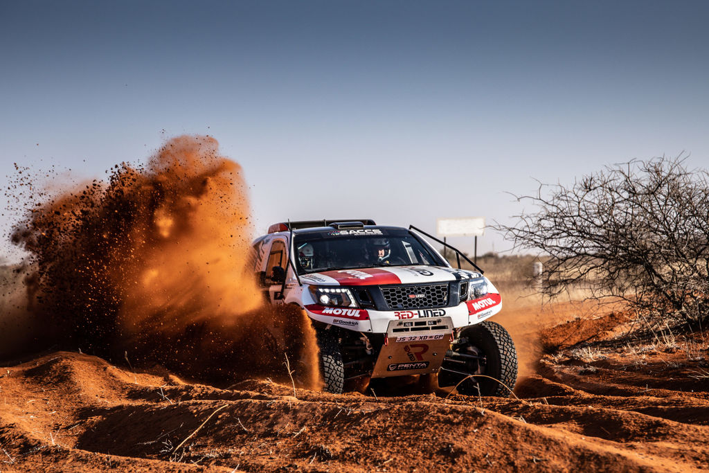 RED-LINED MOTORSPORTS SECURES DAKAR PLACE