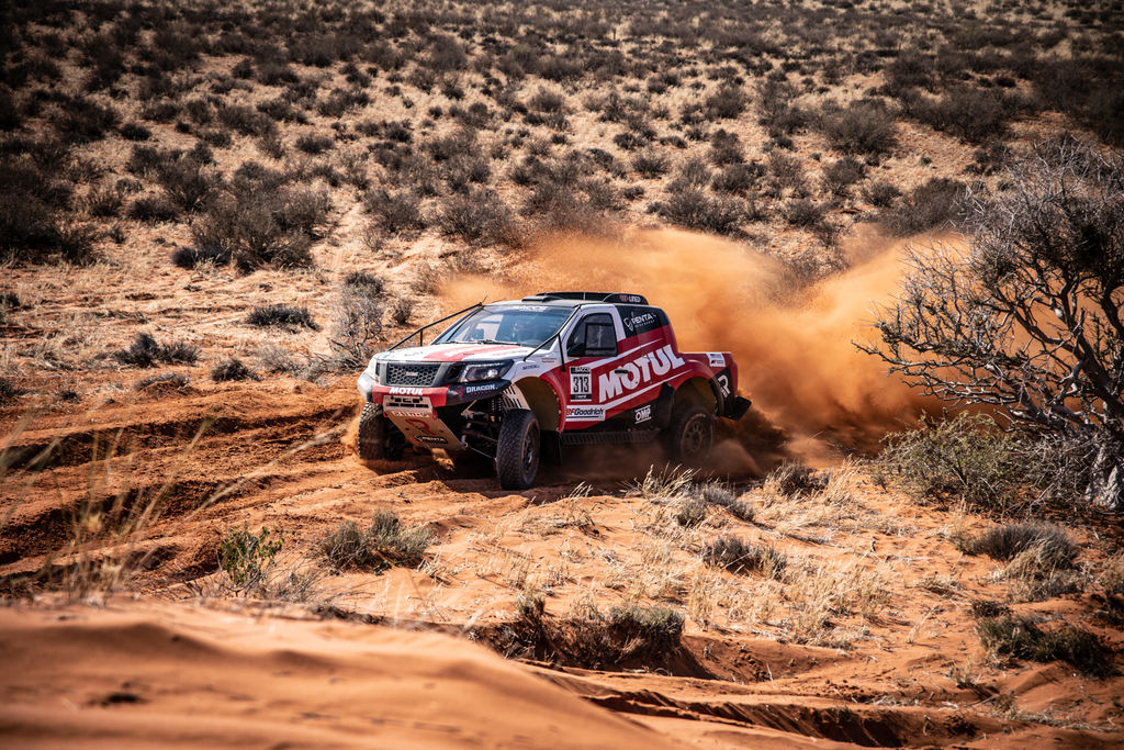 Michelle, could you tell us more about the team's recent successes and the Road to Dakar victory?