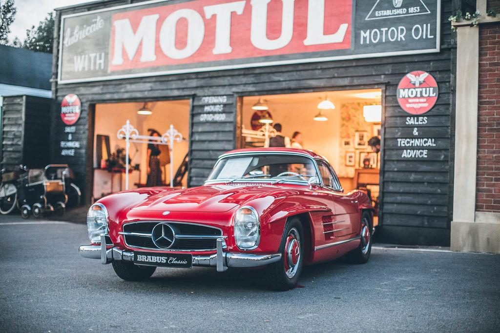 Historischer Motorsport auf dem Goodwood Motor Circuit