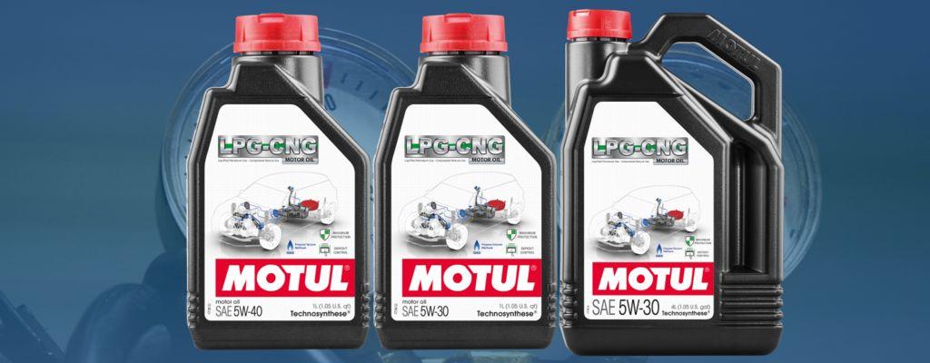 Motul выпускает новые продукты Motul LPG-CNG для двигателей на природном газе!