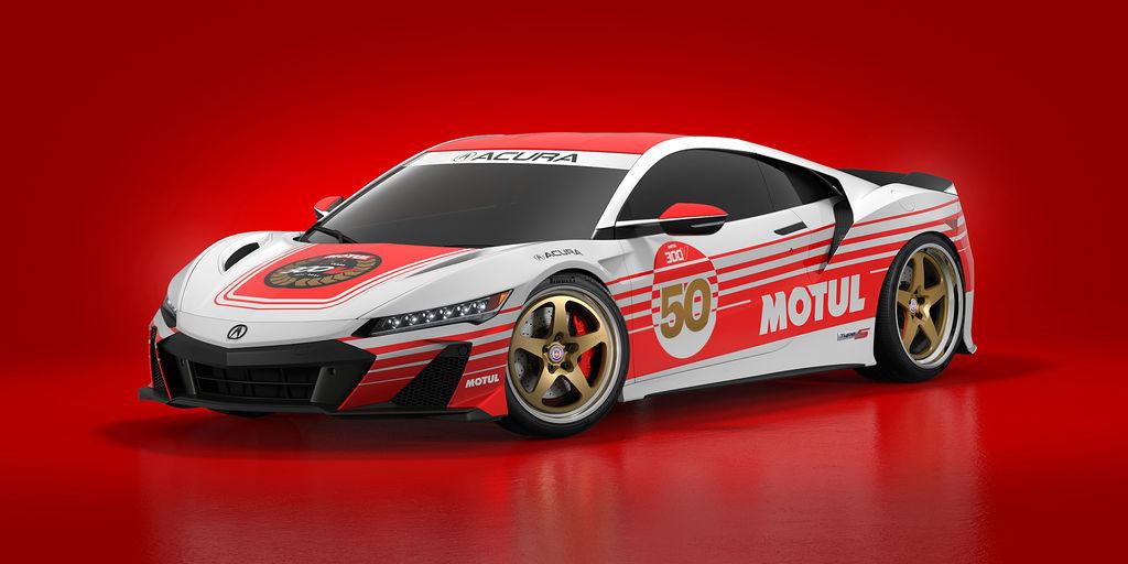 Motul Celebrates 50th Anniversary of 300V Racing Oil at the 2021 Acura Grand Prix of Long Beach