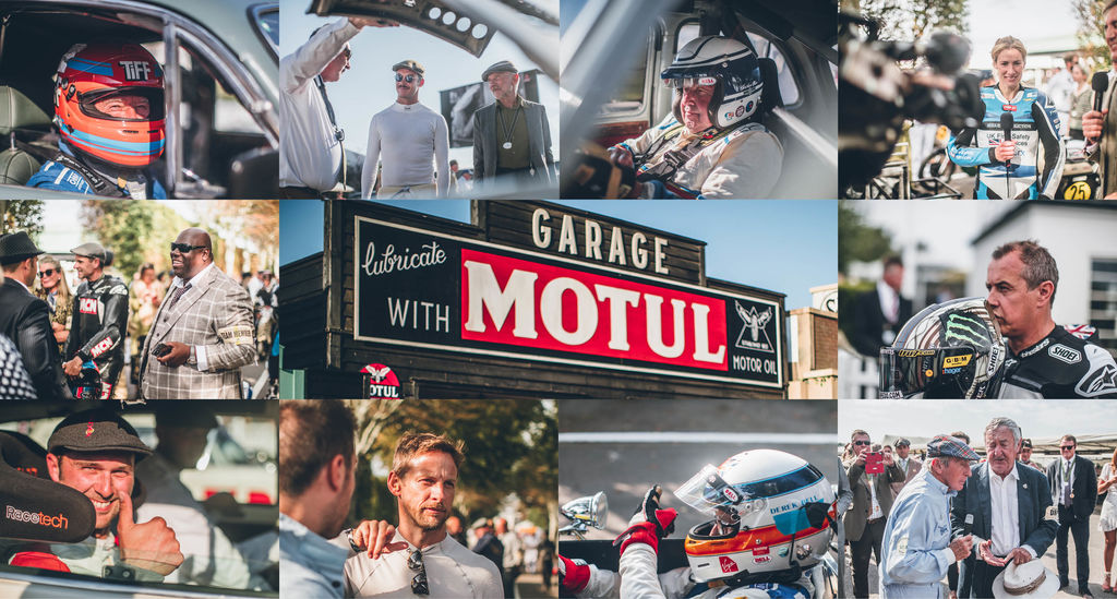 CELEBRITIES AT THE GOODWOOD REVIVAL 2021