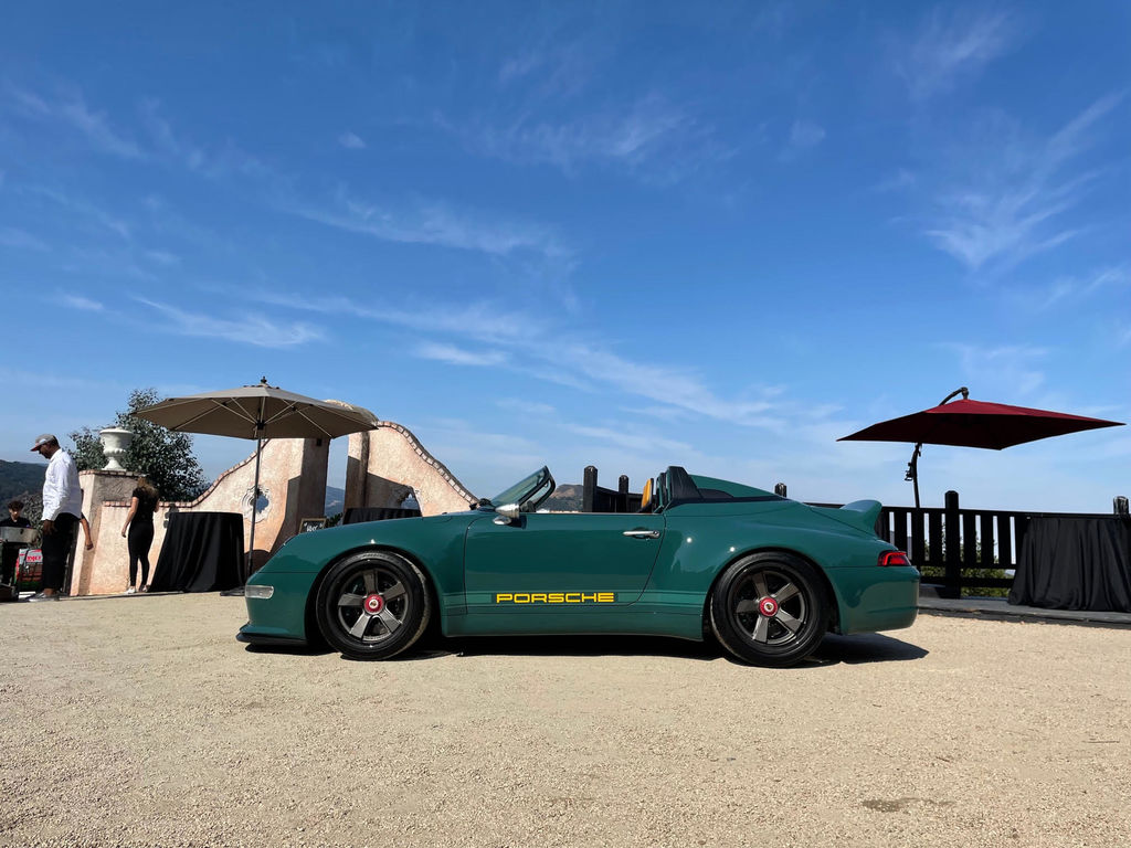 Motul Partners With Gunther Werks to Debut Speedster in Monterey