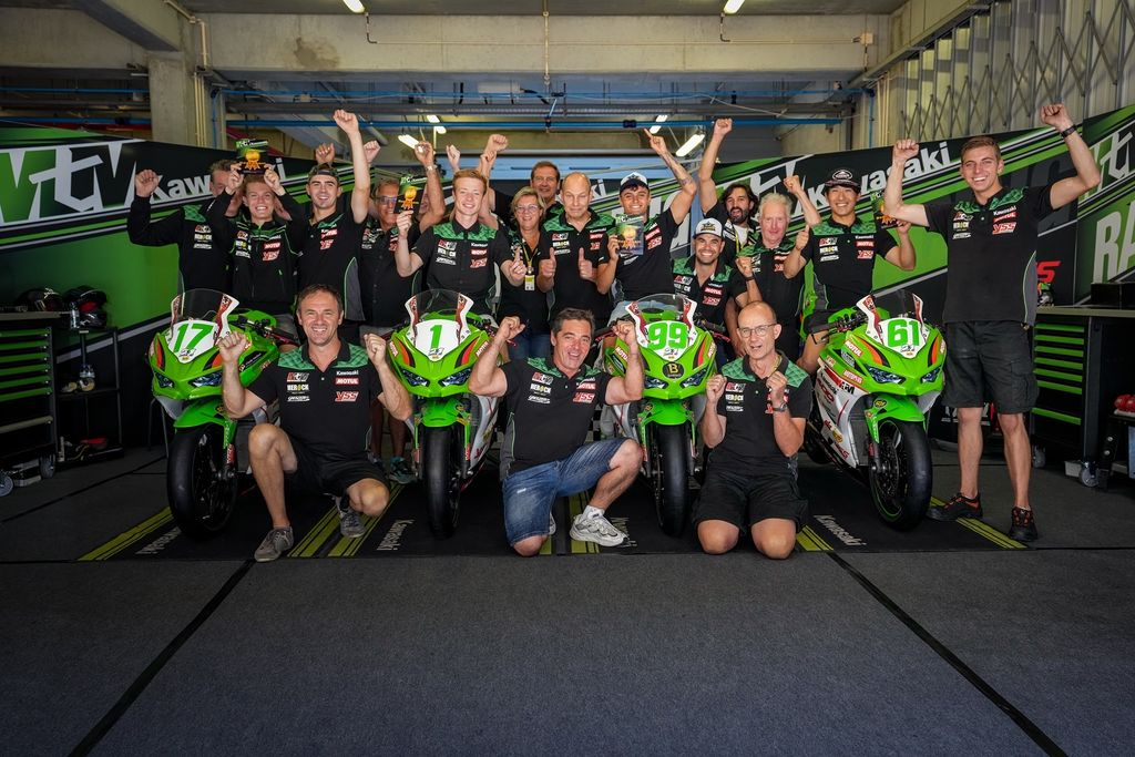 Los pilotos de MTM respaldados por Motul dominan las victorias en WorldSSP300